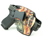 Colt, CZ, Diamondback, FN - IWB Hybrid Kydex Holster Don't Tread Snake Flag