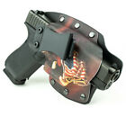 Colt, CZ, Diamondback, FN - IWB Hybrid Kydex Holster Eagle On Flag