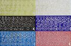 30mm TALL (3cm) SPARKLE NUMBERS Extra Large PEEL OFF STICKERS 0 - 10 Cardmaking