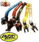 BMW R800GS 700GS 2008-17 PAZZO RACING FOLDING Lever Set ANY Color & Length Combo