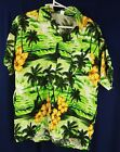 SIZE SMALL (S) CASUAL HAWAIIAN HIBISCUS SHRT - BUTTON UP SHIRT - VARIOUS COLOURS