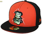 New Era 59Fifty Frankenstein Black & Orange Hat