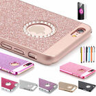 Luxury Bling Glitter Crystal Hard Back Phone Case Cover for iPhone 8 7 6 S Plus