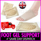 Foot Arch Support Silicone Gel Holes Breathable Pain Plantar Fasciitis Orthotic