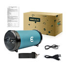 Wireless Indoor/Outdoor Hi-Fi Bluetooth Cylinder Speaker Loud Tube Speaker+Strap