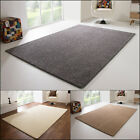 SHAGGY RUG LIVERPOOL SOFT AND COSY PILE NATURAL WHITE BEIGE GREY