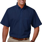 MEN'S SHORT SLEEVE POPLIN SHIRTS (7210s), SIZE M - 6XL, PLUS SIZE SHIRTS