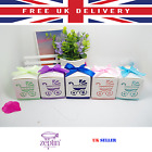 Baby Shower 25 PIECES Boxes Gift Favour Candy Bag Pink Blue Purple Light Blue