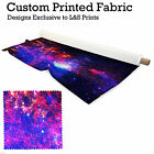 GALAXY 1 PRINT DESIGN POLYESTER FABRIC DIGITAL PRINT MATERIAL SPANDEX LYCRA