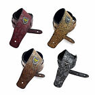 Guitar Strap For Acoustic Electric Guitar Bass Flower Pattern 4 Color to choose