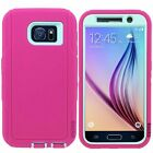 Hybrid Rugged Protective Shockproof Hard Case Cover For Samsung Galaxy S6