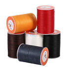 160M 0.45mm Polyester Round Waxed Thread DIY Leather Craft Sewing Stitching NEW