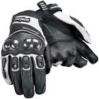 CORTECH ACCELERATOR 3 BLACK SILVER Short Leather Gloves FREE SHIPPING