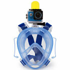 New Underwater Scuba Anti Fog Full Face Diving Mask Snorkeling Set with Earplug