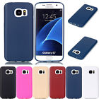 Plain Design UltraSlim Soft TPU Silicone Cover Case GEL Skin Rubber Solid Colors