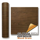 Wood Grain adhesives Vinyl - Wild Oak Wood MW5734 ( Choose Your Size )