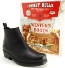 Men's Ankle Boots Leather JOHNNY BULLS Size 5.5 6 6.5 7 7.5 8 9 10 11 12 SPAIN