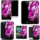 hard slim case cover for many mobiles -  pink tiger