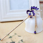 HA Various Fashion Bobby Pin Colorful Hairpin Crystal Rhinestones Hair Stick