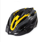 Cycling Bicycle Adult Mens Bike Helmet Red carbon color With Visor Mountain 2017