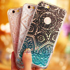Dynamic Quicksand Glitter Liquid PC Clear Back Case Cover For iPhone 6 6S Plus