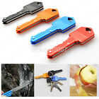 Key Shape Knife Portable Camping Outdoor Pocket Folding Kinfe CA