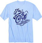 I´m not old T-Shirt Blau Bonanza Rad BMX Racer Bike Fahrrad Oldschool Retro
