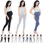 Purpless Maternity Pregnancy Leggings Over Bump Full Length Top Quality 1025