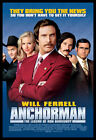 Anchorman FRIDGE MAGNET 6x8 Will Ferrell Movie Poster Magnetic Canvas Print #68