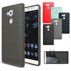 Ultra Thin Shockproof Slim Brushed Rubber Hard Case Cover For Huawei P8 P9 Lite