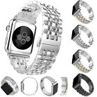 Stainless Steel Bracelet Link Metal Strap Wrist Band For Apple Watch 38/42mm NEW