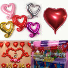 Love Heart Foil Helium Mylar Balloons Wedding Engagement Party Valentines Decor