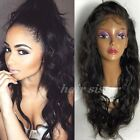 100% Soft Indian Virgin Human Hair Wig Glueless Lace Front/Full Lace Wigs Wave h
