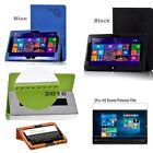 "Print PU Leather Case Cover for 11.6"" Teclast TPad X16 Pro Tablet  + 2pcs Film"