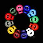 Colorful Ball Cord Locks Round Toggle Clip Stopper For Bag Backpack/Clothing