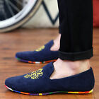 Fashion Men Suede Flats Zapato Driving Moccasin Casual Sneakers Loafer Shoes