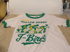 Vintage IRDL T-Bird Roller Derby T-shirt from late 1970's