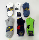 NEW Mens POLO Ralph Lauren SPORT SOCKS 4 or 3 Pack LOW CUT or ANKLE Multi 10-13