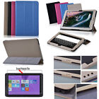 "PU Leather Folio Smart Case Cover For 10.1"" HP Pavilion x2 -10 Tab + Screen Film"
