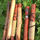 HIKING STICK Pole Natural Animal pole walking trekking wood staff HAND CARVED