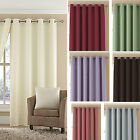 Tessa Ring Top LINED Curtains 11 COLOURS Eyelet Great Choice of Curtains - SMART