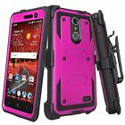 ZTE Phone Models Rugged Holster [Built-in Screen Protector] Case + [Kickstand]