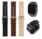 Genuine Leather Wristband Watch Band Wrist Strap For ASUS Zenwatch 2 Smart Watch