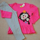 NEW GIRLS Baby Toddler Kid's Clothes 2piece cotton suit