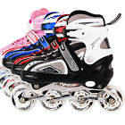 Light Up Kids Adjustable Roller Blades Inline Skates Size 12J-1 3-5 6-8.5