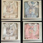 NEW BABY BOYS GIRLS GIFT SET, KNITTED SET,GIFT BOX,NEWBORN GIFT,PINK BLUE WHITE