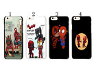 Deadpool Marvel Comic Protector Hard Case Cover For Apple iphone 7 & 7 PLUS