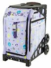 Zuca Peace Bag with BLACK Frame- NEW - Figure skating trolley bag