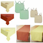 """Half Panama Kitchen CLEARANCE  3"""" curtains & matching accessories - FREE POSTAGE"""
