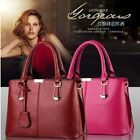 Fashion Women Handbag Shoulder Bags Tote Purse Pu Leather Messenger Hobo Bag